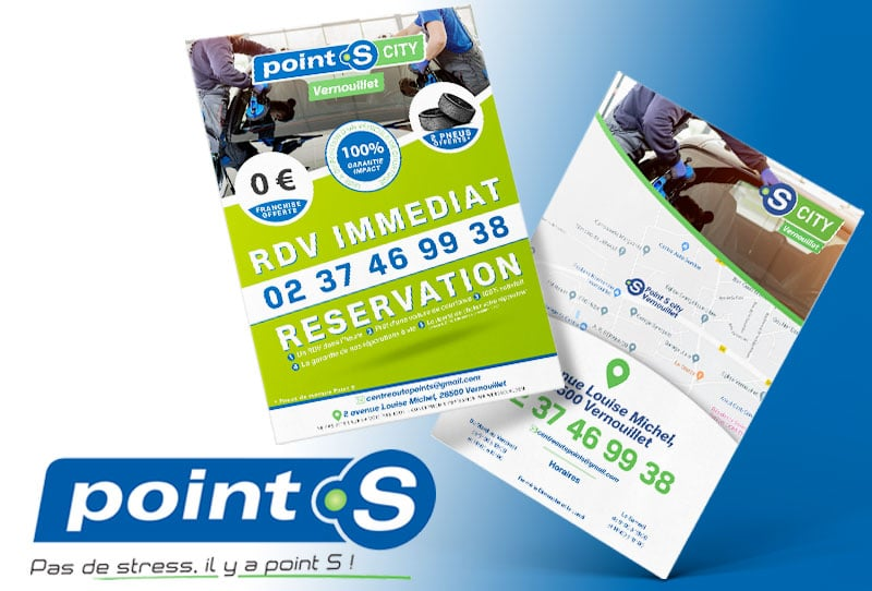 Flyer point S par webdeclic